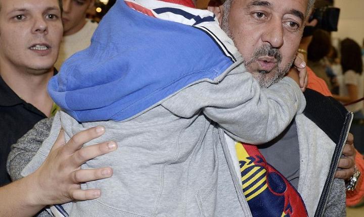 Osama Abdul Mohsen, refugiatul sirian căruia i s-a pus piedică de către jurnalista din Ungaria Petra Laszlo