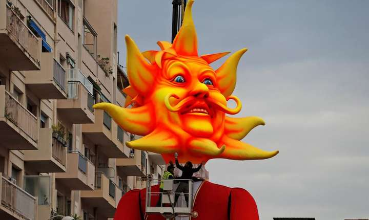 Regele Carnavalului din Nisa