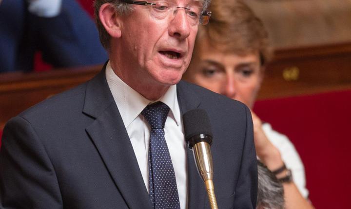 Frédéric Reiss, deputat conservator francez, presedintele grupului de prietenie Franta-Moldova din parlamentul de la Paris