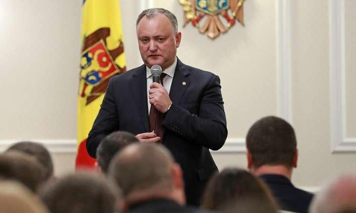 Igor Dodon, suspendat din nou de Curtea Constituţională? (Sursa foto: presedinte.md)