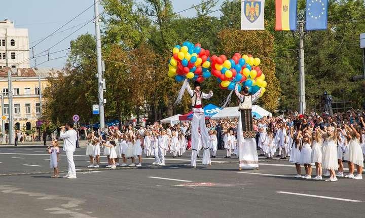 Moldovenii sărbătoresc Ziua Independenţei (Sursa foto: www.gov.md)