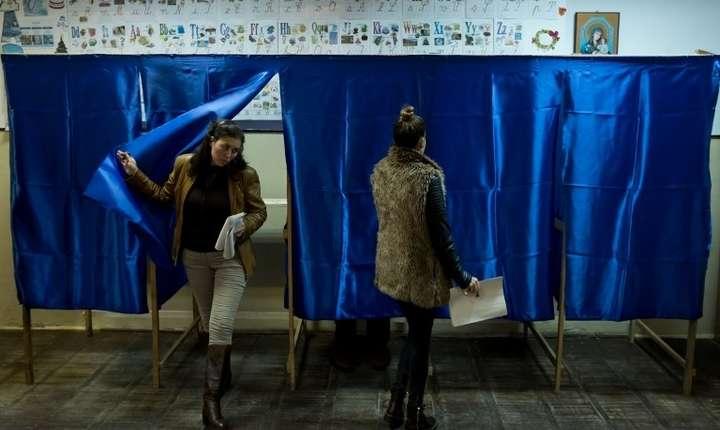 Alegeri parlamentare, 11 decembrie 2016 (Foto: AFP/Andrei Pungovschi)