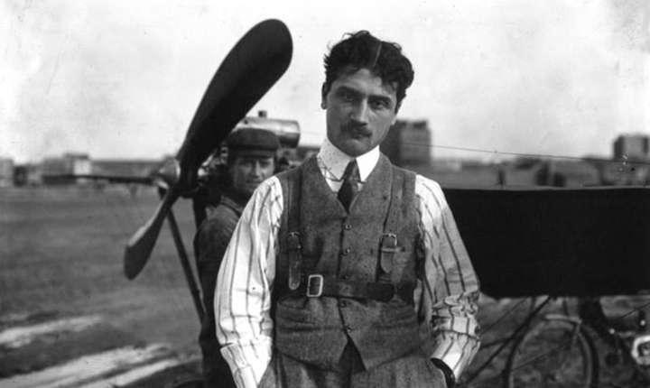 Roland Garros, un aviator pasionat mort la 30 de ani