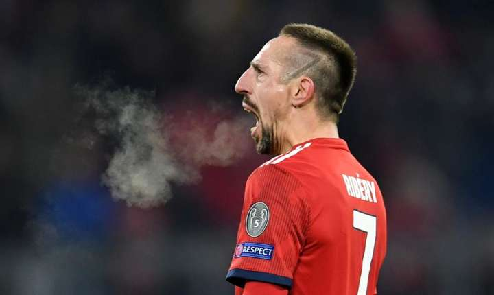 Atacantul francez Franck Ribéry joacà de 11 ani la echipa Bayern München