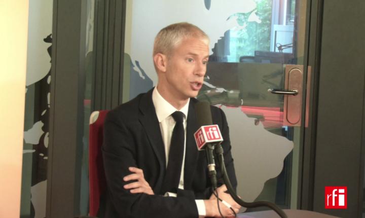 Franck Riester, ministrul francez al culturii, a anuntat noua refomà a audiovizualului public