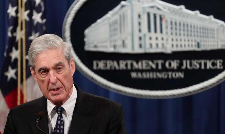 Procurorul special Robert Mueller, 29 mai 2019 la Washington.