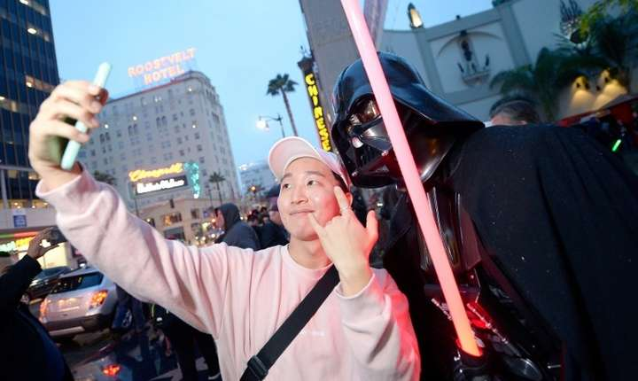 "Fani Star Wars, la premiera ""Rogue One"", în California (Foto: Kevork Djansezian/Getty Images North America/AFP)"