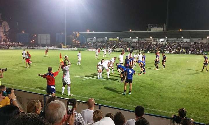 Margine în meciul România - Tonga