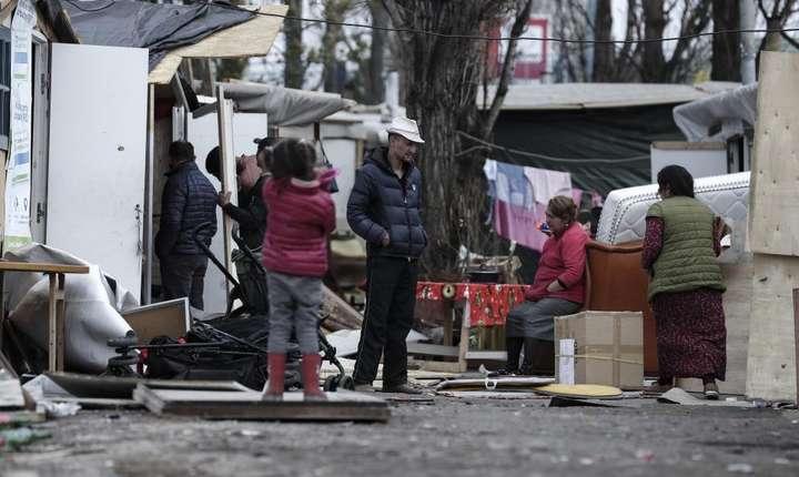 Tabàrà de romi la Bobigny, 25 martie 2019