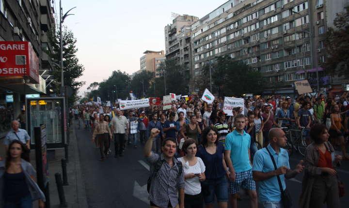 Subiectul Roșia Montană a generat ample manifestații în 2013