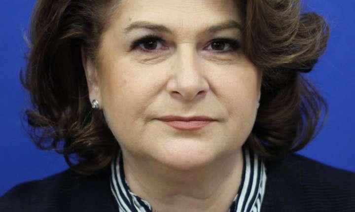 Rovana Plumb, propunerea României de comisar european, a fost respinsă de comisia juridică a Parlamentului European (Sursa foto: site Camera Deputaţilor)