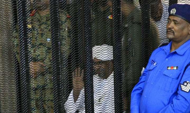 Omar el-Bechir în faţa judecătorilor, 19 august 2019