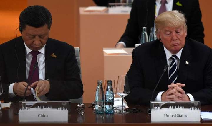 Xi Jinping şi Donald Trump la precedentul summit G20 de la Hamburg