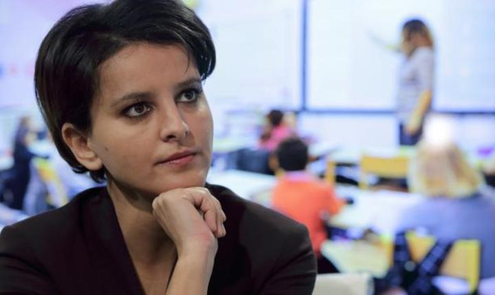 Najat Vallaud-Belkacem, ministrul francez al Educatiei