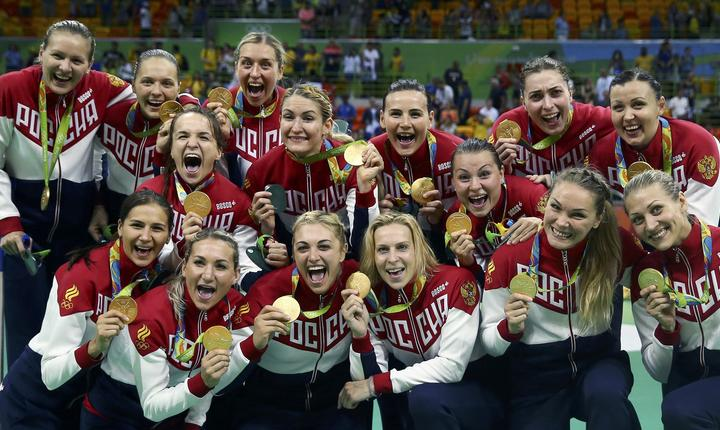 Rusia, campioană olimpică la handbal feminin (Foto: Reuters/Marko Djurica)