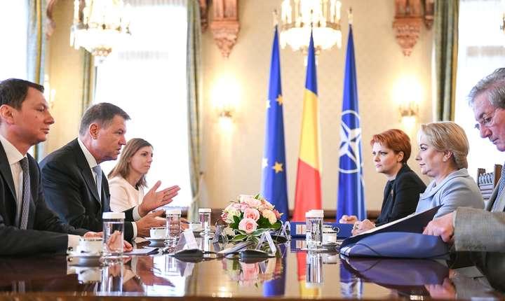 Iohannis a solicitat guvernului prudenţă în abordarea politicilor economice