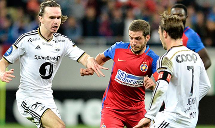 Steaua, învinsă de Rosenborg cu 3-0, în turul barajului Ligii Europa (Sursa foto: www.steauafc.com)