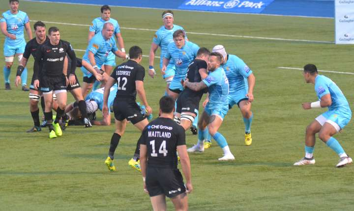 Saracens 25 Worcester Warriors 17