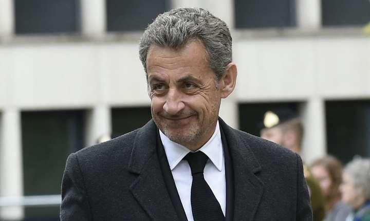 Fostul presedinte francez Nicolas Sarkozy în Luxembourg, pe 4 mai 2019
