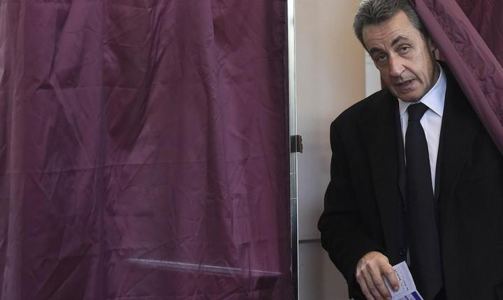 Nicolas Sarkozy la primul tur al alegerilor regionale franceze, 6 decembrie 2015