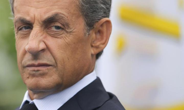Fostul presedinte francez Nicolas Sarkozy pe 4 septembrie 2016 la La Baule