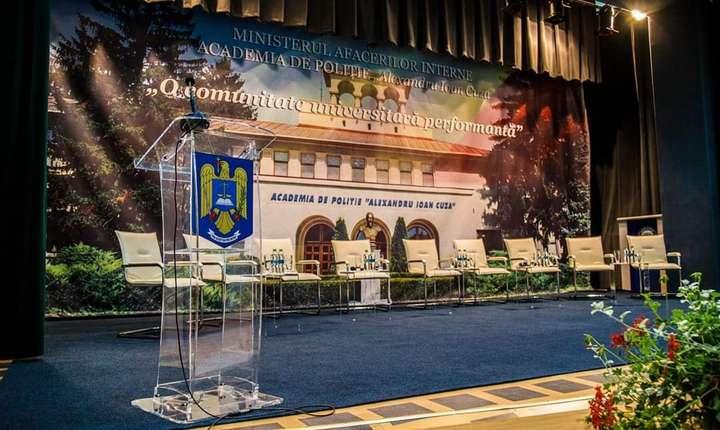 Rectorul și prorectorul Academiei de Poliție, puși sub control judiciar (Foto: Facebook/Academia de Poliție)