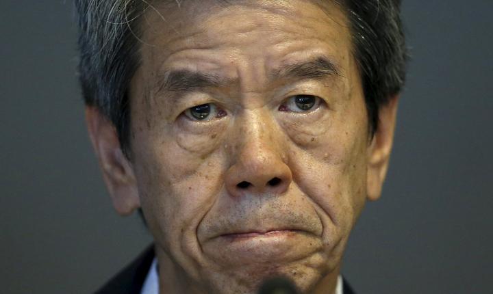 Directorul general al Toshiba, Hisao Tanaka (Foto: Reuters/Toru Hanai)