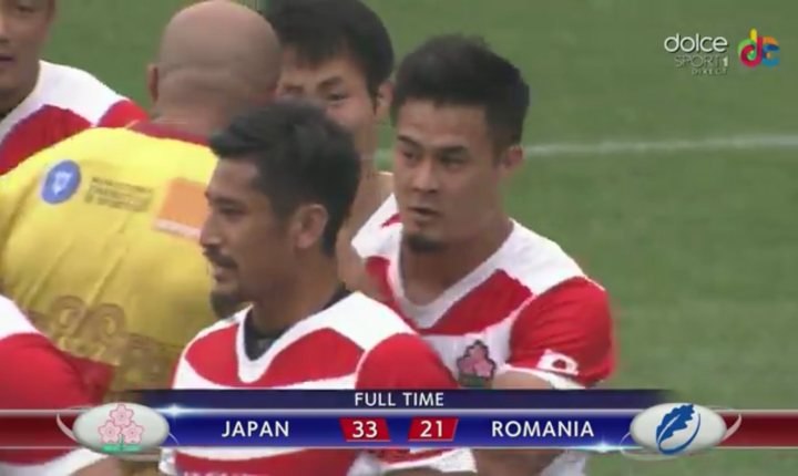 Japonia 33 România 21
