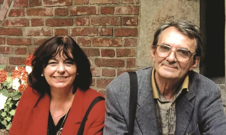 Ana Blandiana şi Romulus Rusan