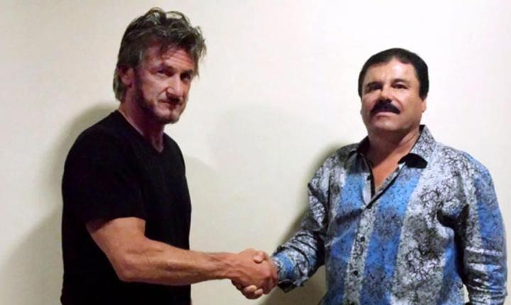 "Sean Penn şi Joaquin ""El Chapo"" Guzman (Foto: www.rollingstone.com)"