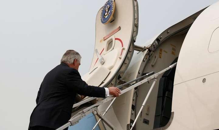 Secretarul american de stat, Rex Tillerson a aterizat pe 29 martie la Ankara pentru convorbiri cu liderii Turciei
