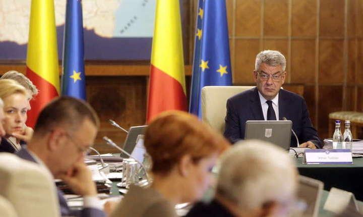 Guvernul amana pana luni sedinta extraordinara pentru adoptarea noilor masuri fiscale