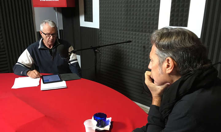 Serge Rameau et Nicolas Don - studio RFI
