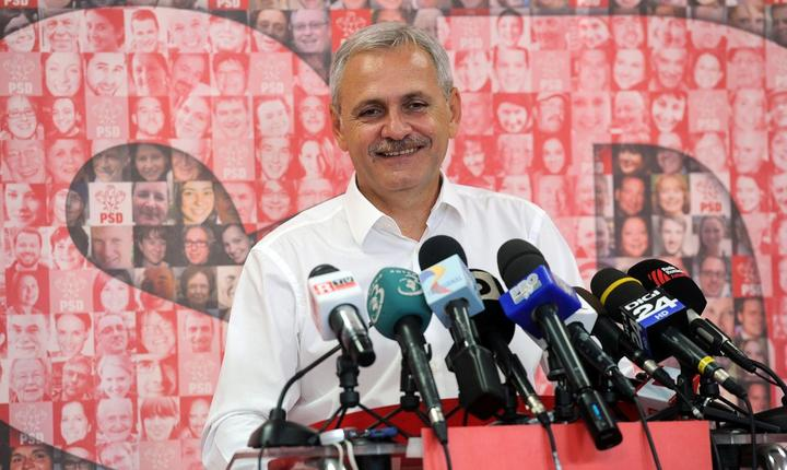 Preşedintele interimar al PSD, Liviu Dragnea (Foto: www.psd.ro)