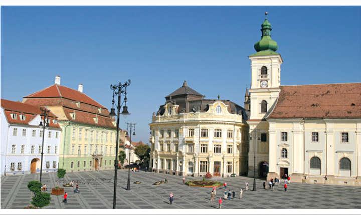 Sibiul e pregatit sa-i primeasca pe liderii Uniunii Europene.  Angela Merkel, Emmanuel Macron, Donald Tusk și Jean Claude Juncker vin in Romania pentru a discuta despre viitorul Europei.