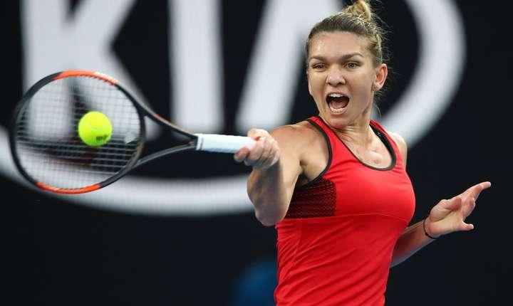 Simona Halep, eşec la Australian Open (Sursa foto: ausopen.com)