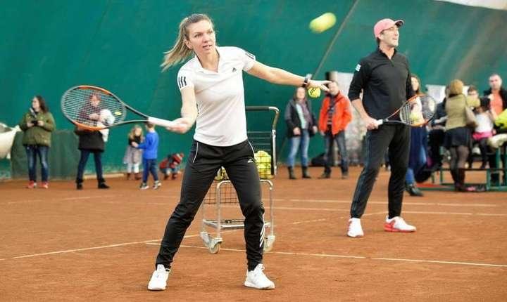 Simona Halep, a doua favorită la Wuhan (Sursa foto: Twitter/Simona Halep)