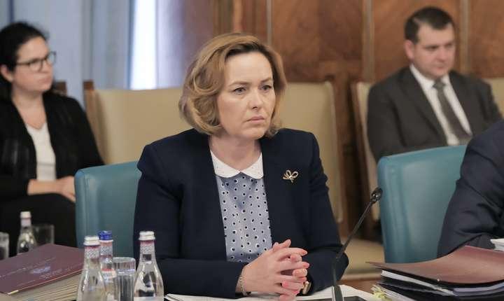 Carmen Dan și-a dat demisia din funcția de ministru de Interne (Sursa foto: gov.ro)