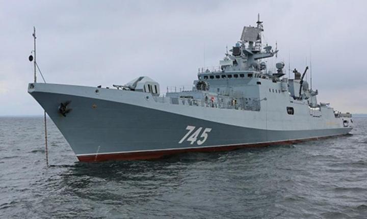 Fregata Admiral Grigorovici, unul dintre cele mai moderne vase de ràzboi rusesti, va patrula în Mediteranà