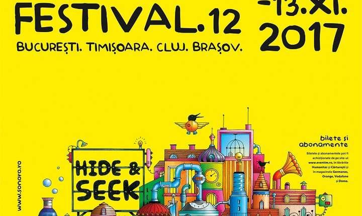 Afiș Festivalul SoNoRo 2017