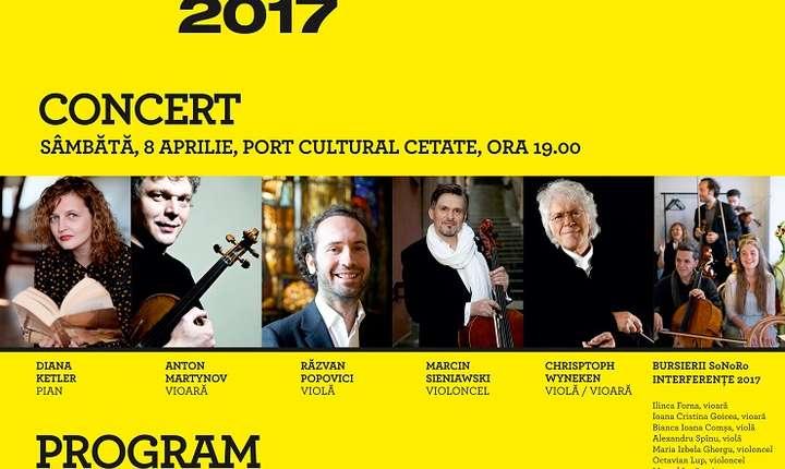 Concert Sonoro Interfernțe, Portul Cultural Cetate 2017