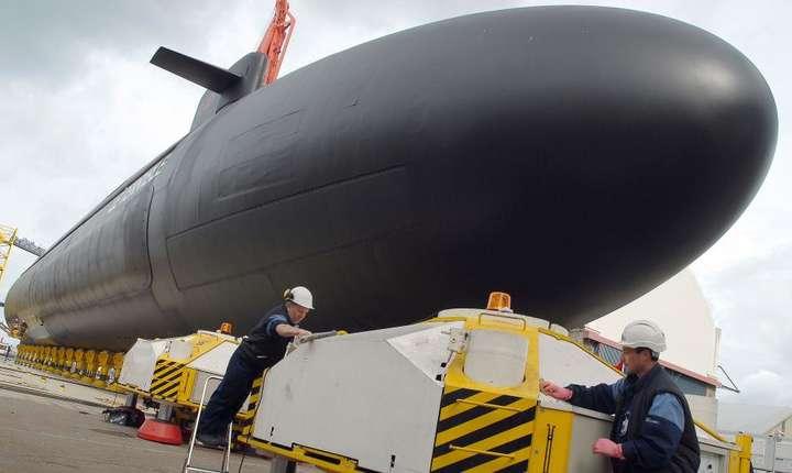 """Submarinul nuclear francez """"Le Terrible"""""""