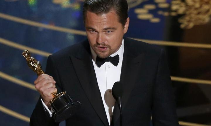 Leonardo DiCaprio, premiul Oscar pentru cel mai bun actor (Foto: Reuters/Mario Anzuoni)