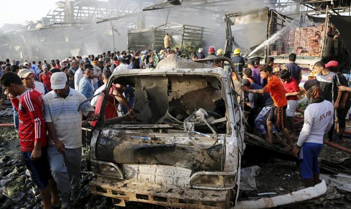 Atentat în Bagdad (Foto: Reuters/Wissm Al-Okili)