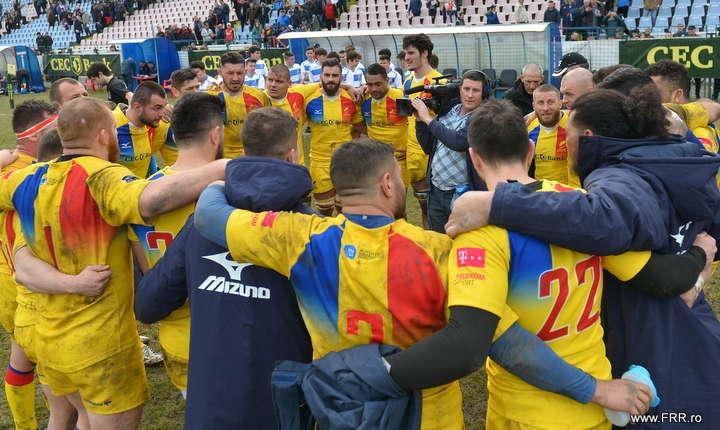 Stejarii după meciul cu Belgia din 10 martie