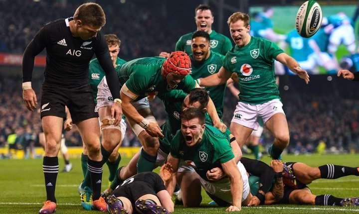 Irlanda 16 Noua Zeelandă 9