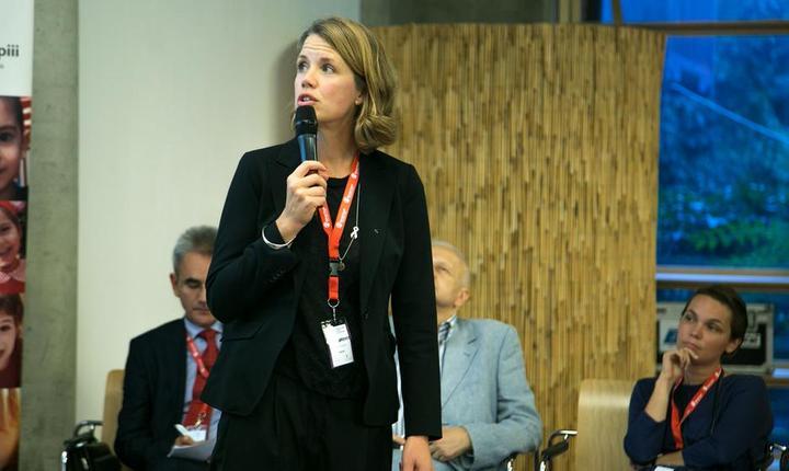 Maria Ahlberg, Phd, vicepreședinte al Asociatiei Suedeze a Moaselor. Foto: AMI