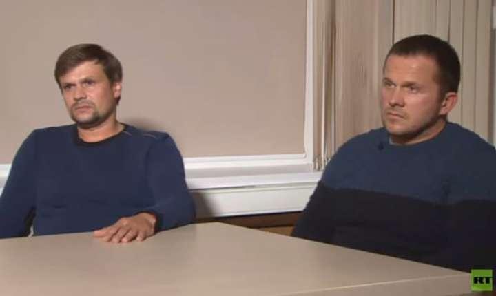 Ruslan Boșirov și Alexander Petrov intervievați de RT