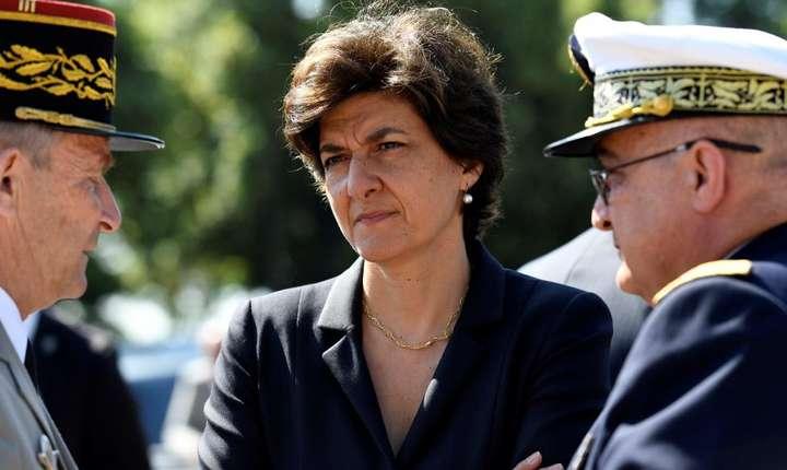 Sylvie Goulard, în timpul mandatului de ministru al Armatelor, 18 iunie 2017.