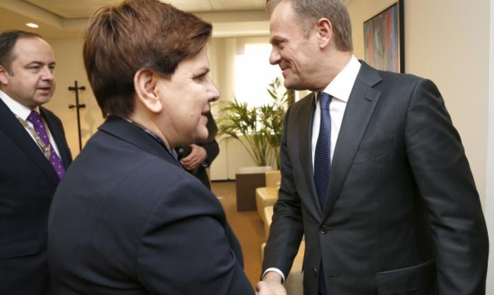 Beata Szydlo si Donad Tusk